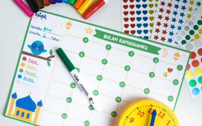 Printable Gratis Kalender Aktivitas Ramadhan untuk Anak