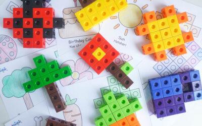 Bentuk Apakah Itu? Belajar Sambil Bermain Membuat Bentuk dengan SnapLink Cubes